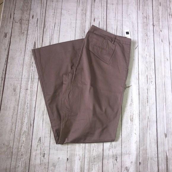 Gap Pants - GAP The Perfect Khaki Pants Stretch Size 16XL pink